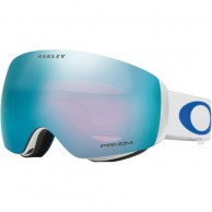 Oakley Flight Deck XM, White, Prizm Sapphire Iridium, Lindsey Vonn Signature