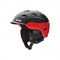 Smith Vantage ski helmet, matt black/red