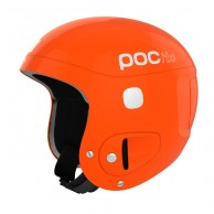 POCito Skull, kids ski helmet, orange