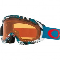 Oakley O2 XS, Shady Trees Blue Red, Persimmon