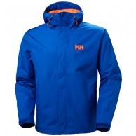 Helly Hansen Seven J, mens Rain jacket, blue