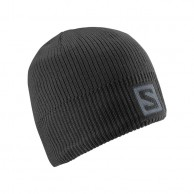 Salomon Logo Beanie, black
