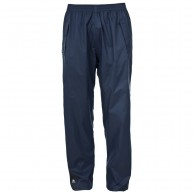 Trespass Qikpac, unisex rainpants, navy