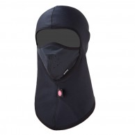 Kama softshell/fleece face mask, black