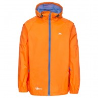 Trespass Qikpac unisex rainjacket, orange