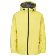 Trespass Qikpac unisex rainjacket, yellow