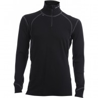Ulvang Thermo Turtle neck w/zip Ms, black
