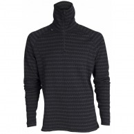 Ulvang 50Fifty 2.0 Turtle neck w/zip Ms, men, black