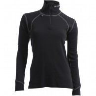 Ulvang Thermo Turtle neck w/zip Ws, women, black