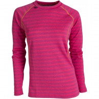 Ulvang 50Fifty 2.0 Round neck Ws, women, beetroot