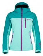 Kilpi Elia, womens soft shell jacket, mint