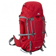 Trespass Trek 66, Mountain Backpack, red