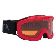 Alpina Ruby S, goggles, red