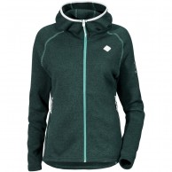 Didriksons Cimi fleece jakke, woman, dark aqua