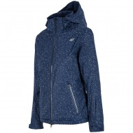 4F Corinna womens ski jacket, blue