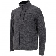 4F mens fleece jacket, dark grey