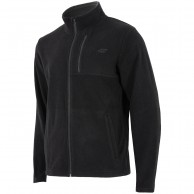 4F mens fleece jacket, black