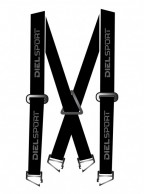 DIEL Elastic Suspenders, W, black