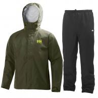 Helly Hansen Seven J set, mens Rain Suit, ivy green
