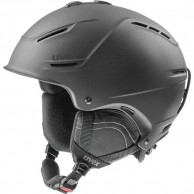 Uvex p1us 2.0 helmet, black