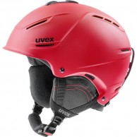 Uvex p1us 2.0 helmet, red