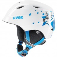 Uvex airwing 2, helmet, white/blue