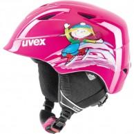 Uvex airwing 2, helmet, pink