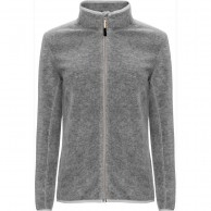 Weather Report, Ulla Lds. fleece jacket, womens, grey