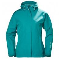 Helly Hansen W Seven J Rain Jacket, turquoise