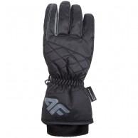 4F NeoDry ski gloves, womens, black