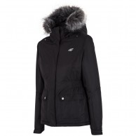 4F Melanie 3/4 ski jacket, womens, black