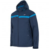4F Glenn ski jacket, men's, dark blue
