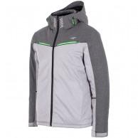 4F Roland ski jacket, men's, grå