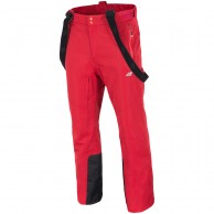 4F Gilbert ski pants, men, tomato