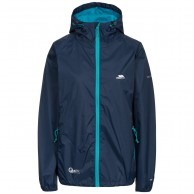 Trespass Qikpac, navy, female rainjacket