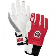 Hestra Ergo Grip Windstopper Race ski gloves, mens, red