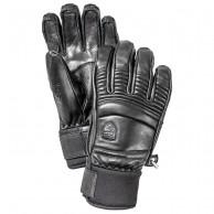 Hestra Leather Fall Line ski gloves, black