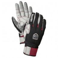 Hestra Ergo Grip Windstopper Race ski gloves, mens, black