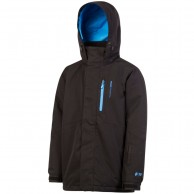 Protest Marc 17 JR, boys ski jacket, black