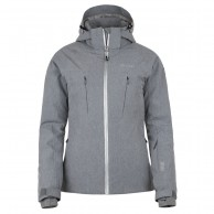 Kilpi Addison womens ski jacket, light grey