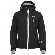 Kilpi Addison womens ski jacket, black