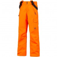 Protest Denysy JR boys ski pants, bright orange