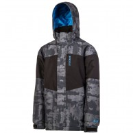 Protest Duster JR, boys ski jacket, black