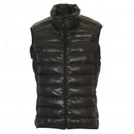 DIEL mens down vest, black