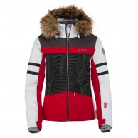 Kilpi Lesia-W, womens ski jacket, red