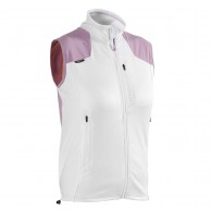Head Flexor vest, back protector, white/purple