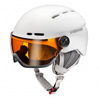 HEAD Queen visor ski helmet, white