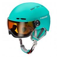 HEAD Queen visor ski helmet, turquoise
