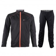 2117 of Sweden Ekedalen, Mens Rain suit,  black