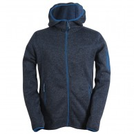 2117 of Sweden Heden mens fleece jacket, navy